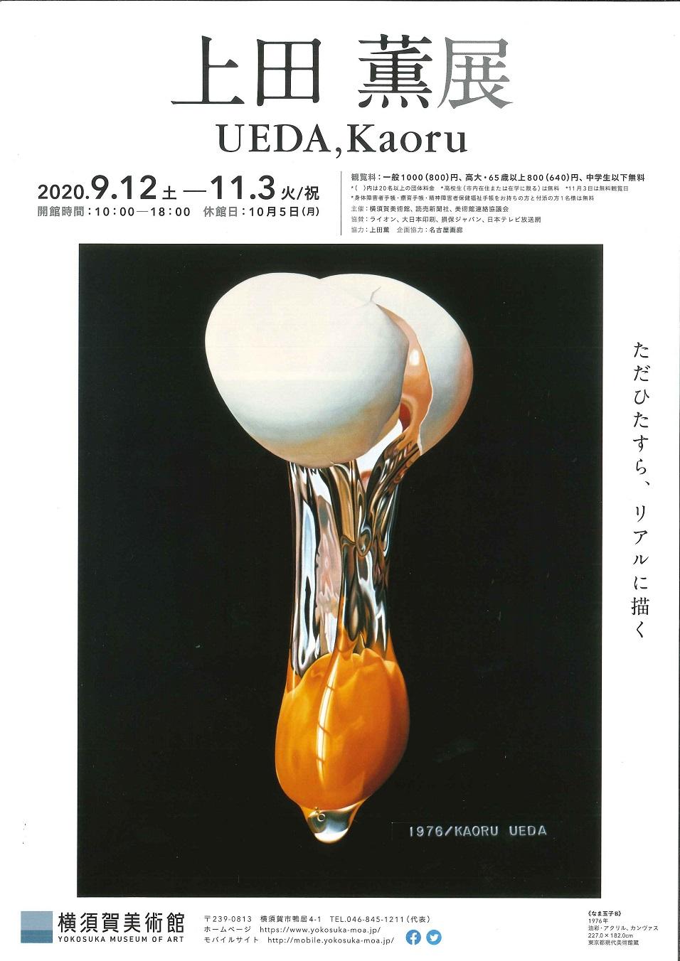 上田 薫展<br>(横須賀美術館)